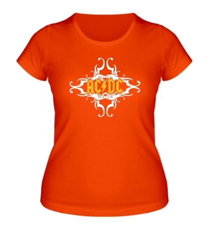 Женская футболка AC/DC TNT