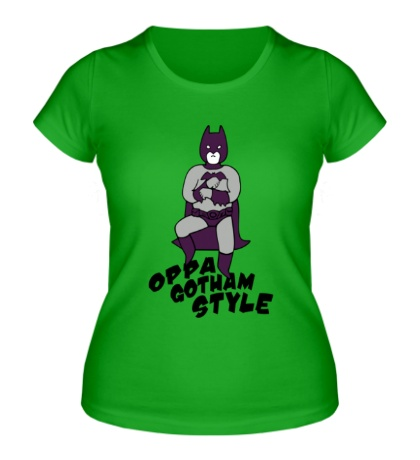 Женская футболка Gotham style