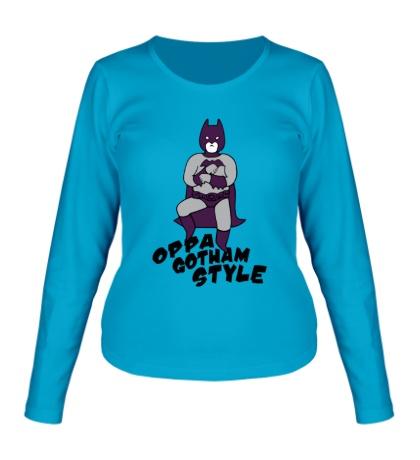 Женский лонгслив Gotham style