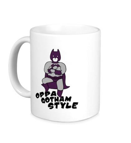 Керамическая кружка Gotham style