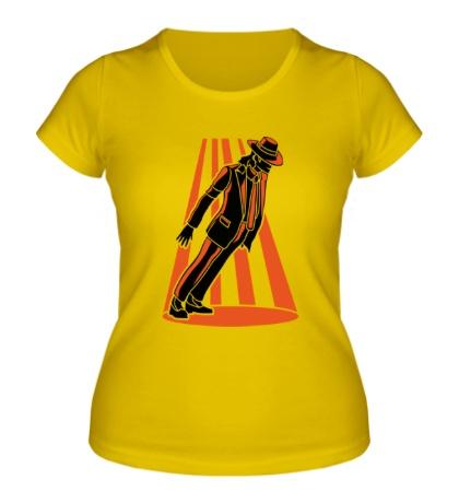 Женская футболка Танец Майкла Джексона