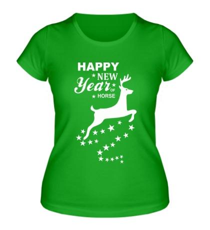 Женская футболка Magic Happy New Year