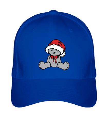 Бейсболка Мишка в новогодней шапочке