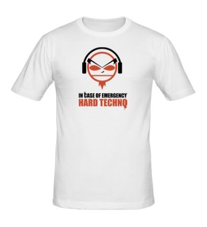 Мужская футболка Hard Techno