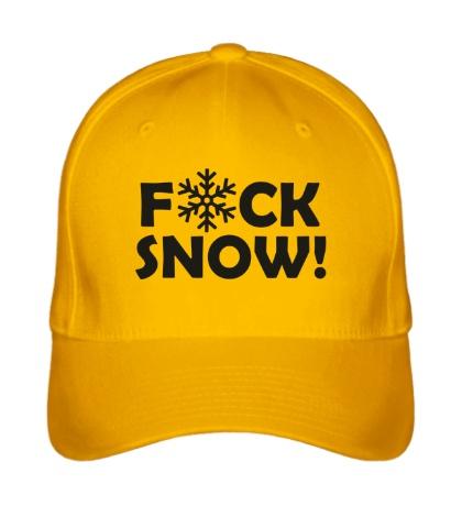 Бейсболка Fuck Snow