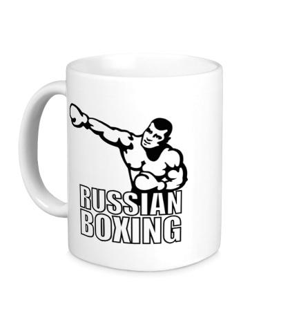 Керамическая кружка Russian Boxer