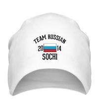 Шапка Team russian 2014 sochi