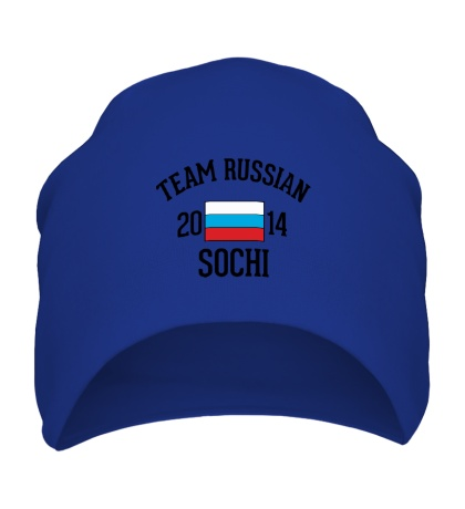 Шапка Team russian 2014 sochi