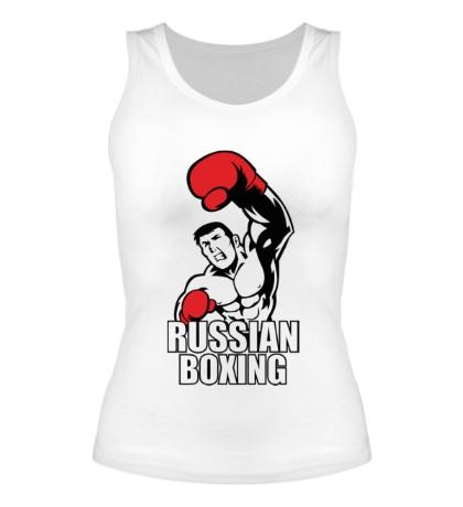 Женская майка Russian boxing