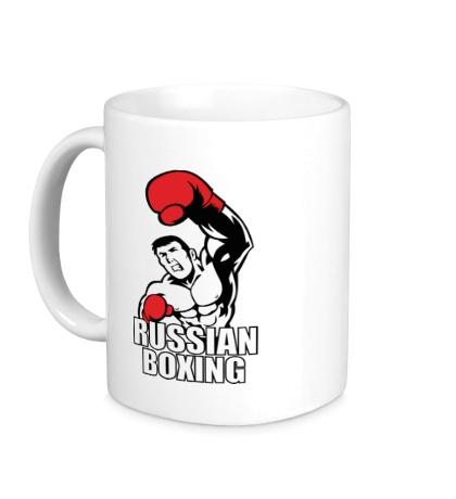 Керамическая кружка Russian boxing
