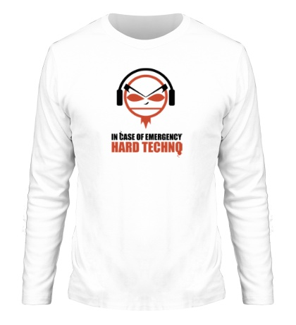 Мужской лонгслив Hard Techno