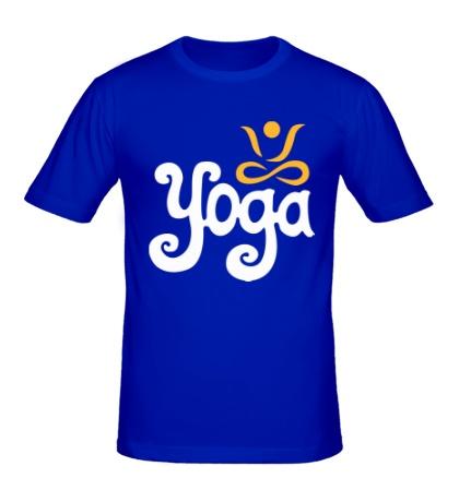 Мужская футболка Yoga