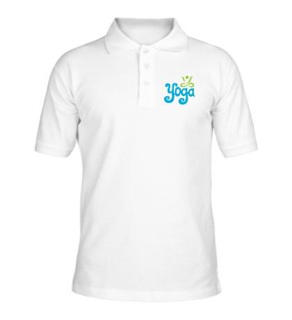 Рубашка поло Yoga