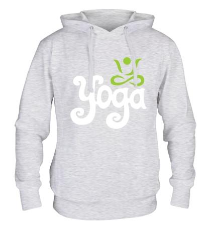 Толстовка с капюшоном Yoga