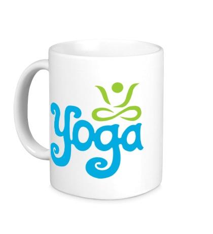 Керамическая кружка Yoga