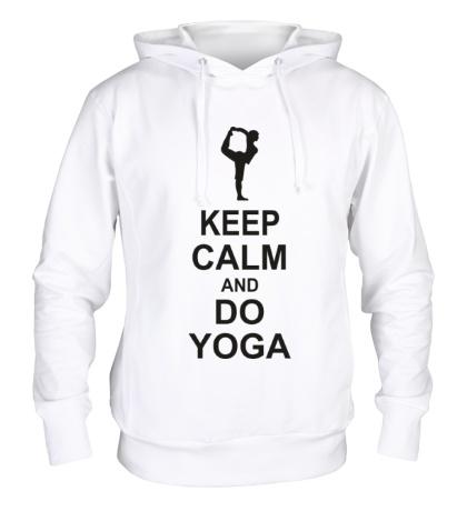 Толстовка с капюшоном Do yoga