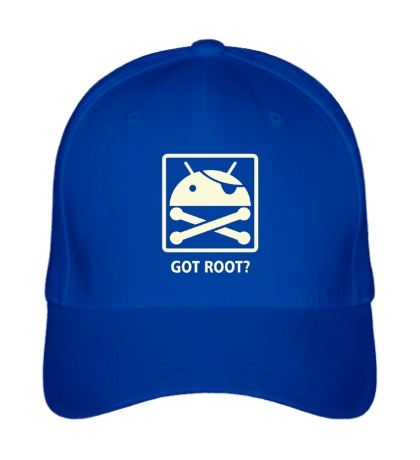 Бейсболка Got root? glow