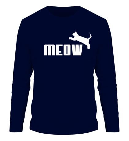 Мужской лонгслив Meow