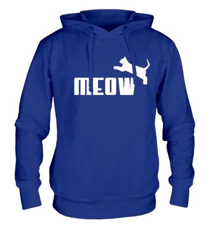 Толстовка с капюшоном Meow
