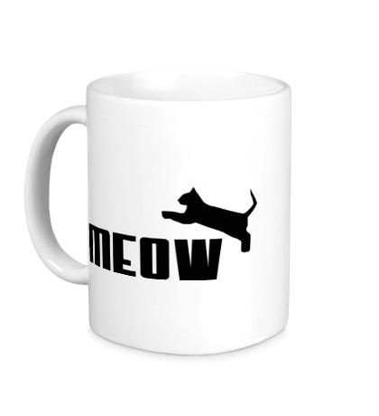 Керамическая кружка Meow