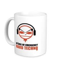 Керамическая кружка Hard Techno