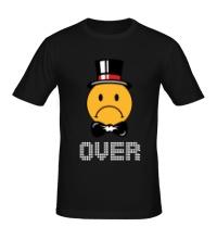 Мужская футболка Game Over, для него