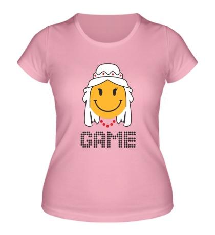 Женская футболка «Game Over, для нее»