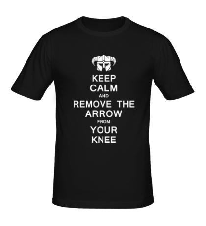 Мужская футболка Keep Calm & Remove the Arow