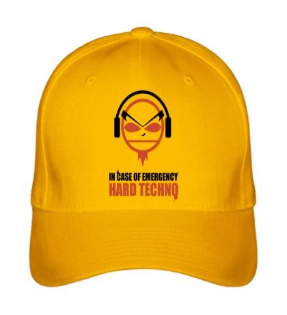 Бейсболка Hard Techno