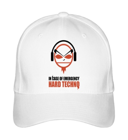 Бейсболка «Hard Techno»