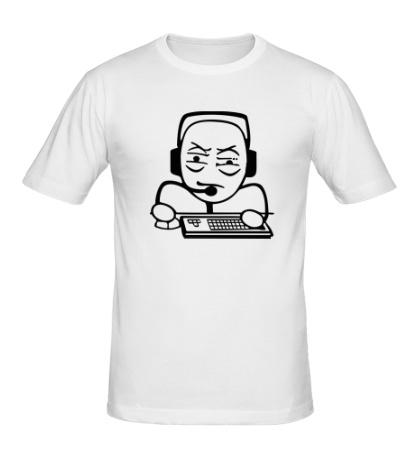 Мужская футболка Геймер мем
