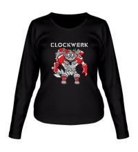 Женский лонгслив Clockwerk