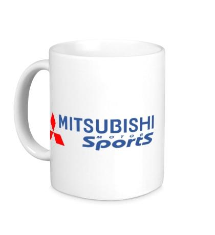 Керамическая кружка Mitsubishi Sports