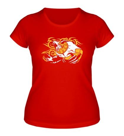 Женская футболка Angry Ursa