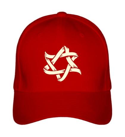 Бейсболка Звезда Давида, свет