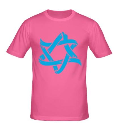 Мужская футболка Звезда Давида