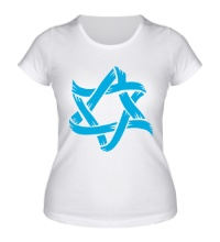 Женская футболка Звезда Давида