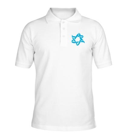 Рубашка поло Звезда Давида