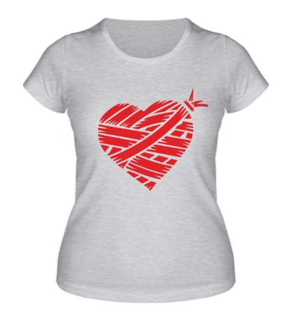 Женская футболка Сердце