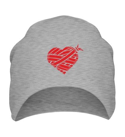 Шапка Сердце