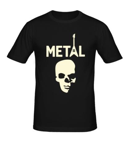 Мужская футболка Hardcore Metal Glow