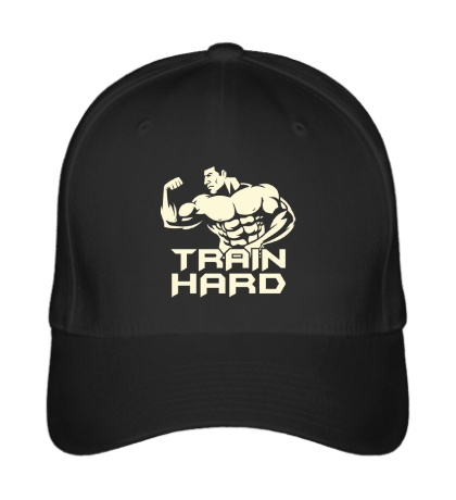 Бейсболка Train hard glow