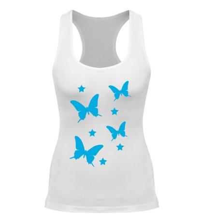 Женская борцовка Волшебные бабочки