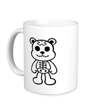 Керамическая кружка Медвежонок зомби