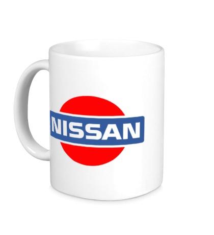Керамическая кружка Nissan Logo