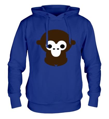 Толстовка с капюшоном Маленькая обезьяна