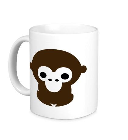 Керамическая кружка Маленькая обезьяна