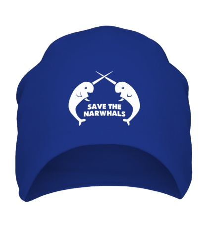 Шапка Save the Narwhals