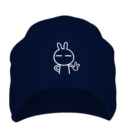 Шапка Дружелюбный заяц