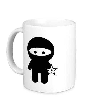 Керамическая кружка Ninja